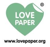 Love Paper Logo Green