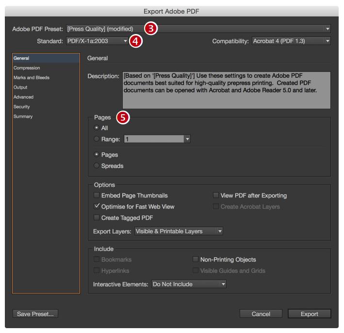 Export PDF steps3-5