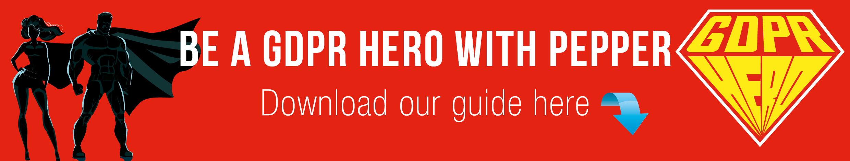 GDPR hero banner